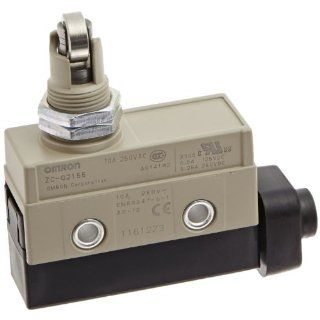 Omron ZC Q2155 Minature Enclosed Limit Switch, Panel Mount Cross Roller Plunger: Electronic Component Limit Switches: Industrial & Scientific