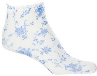 Jessica Simpson Floral Fashion Anklet Socks Shoes