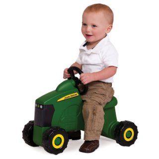 Ertl John Deere Sit N Scoot Tractor: Toys & Games