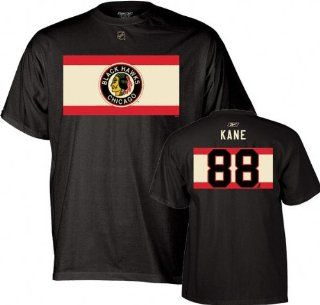 Chicago Blackhawks Patrick Kane Alternate Throwback T Shirt (XL) : Sports Related Merchandise : Sports & Outdoors