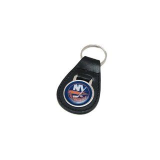 New York Islanders Leather Keychain : Sports Related Key Chains : Sports & Outdoors