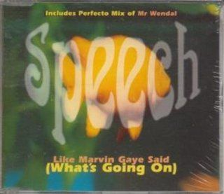 Like Marvin Gaye Said What's Going On CD UK Cooltempo 1996: Music