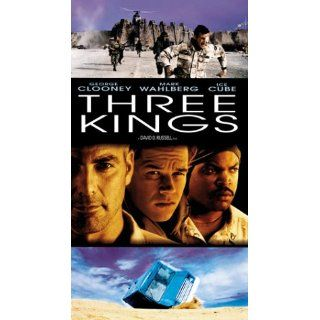 Three Kings (Collector's Edition) [VHS]: George Clooney, Mark Wahlberg, Ice Cube, Spike Jonze, Cliff Curtis, Nora Dunn, Jamie Kennedy, Sa�d Taghmaoui, Mykelti Williamson, Holt McCallany, Judy Greer, Christopher Lohr, David O. Russell, Alan Glazer, Bruc