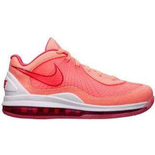 Nike Mens Basketball Shoes AIR MAX 360 BB LOW Bright Mango / Crimson / White / Varsity Red SZ 9: Shoes