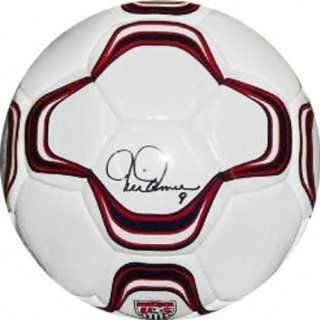 Mia Hamm Autographed Official Nike Soccer Ball : Sports Related Collectibles : Sports & Outdoors