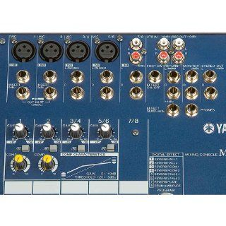 Yamaha MG82CX 8 Input Stereo Mixer with Digital Effects: Musical Instruments