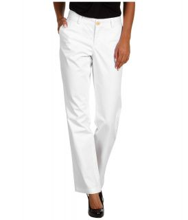 Dockers Misses Oh My! Soft Khaki Womens Casual Pants (White)