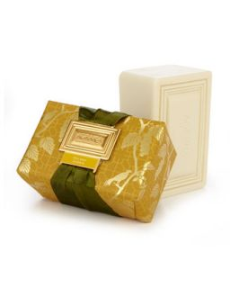 Golden Cassis Luxury Bath Bar Soap   Agraria   Gold