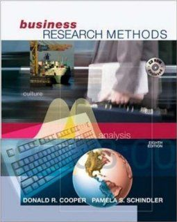 Business Research Methods with Student CD ROM: Donald R Cooper, Pamela S. Schindler, Pamela Schindler: 9780072819793: Books