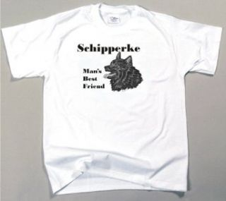 Schipperke Man's Best Friend T Shirt at  Men�s Clothing store