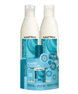 Matrix Total Results Amplify 2012 Holiday Gift Trio : Shampoo And Conditioner Sets : Beauty
