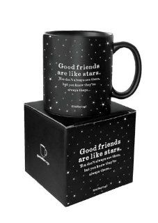 Quotable Good Friends Are Like Stars   Old Saying Mug Kitchen & Dining