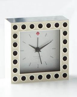 Crosse Pointe Clock   kate spade new york   Black dots