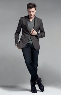 John Varvatos Blazer, Alternative Henley & Hudson Jeans Slim Straight Leg Jeans