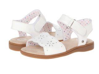 UGG Kids Sunny Girls Shoes (White)