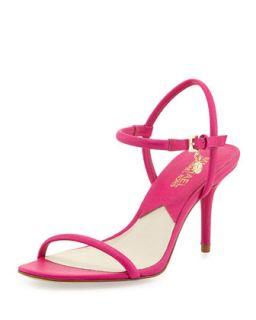 Carlene Naked Sandal   MICHAEL Michael Kors   Raspberry (36.5B/6.5B)