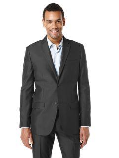 Perry Ellis Mens Micro Check Suit Jacket