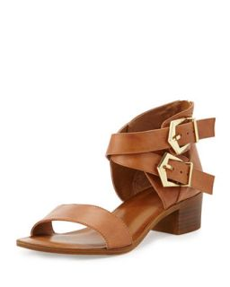 Pardon My French Buckled City Sandal   Seychelles   Tan (9 1/2B)
