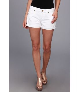 A Gold E Zoe Cut Off Short in Cote DAzur Womens Shorts (Blue)