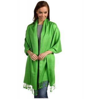 Betsey Johnson Cashmere/Silk Real Pashmina Green