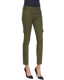 Womens Corporal Skinny Ankle Jeans   Joes Jeans   Olive (30)