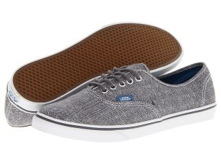 Vans Authentic Lo Pro Castlerock) Skate Shoes (Gray)