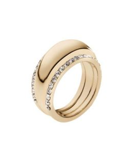 Pave Insert Ring, Golden   Michael Kors   Gold (8)