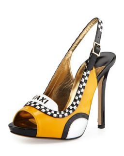 le taxi slingback pump, taxi yellow   Kate Spade   Taxi yellow (39.0B/9.0B)