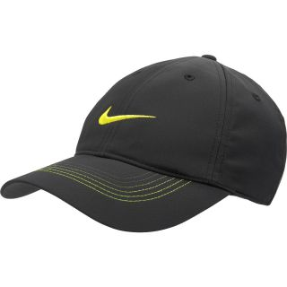 NIKE Mens Contrast Stitch Golf Cap, Black/black