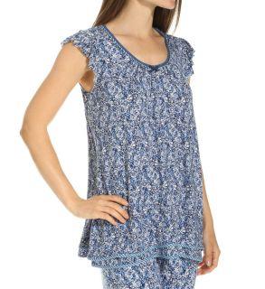 Ellen Tracy 8415327 Mod Flutter Sleeve Top