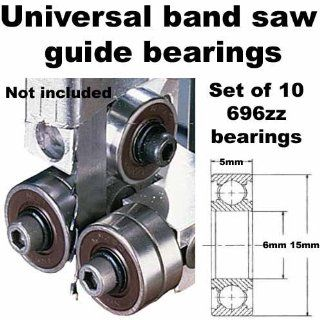 Universal Band Saw Guide Bearings (Set of 10 Bearings Only)   Band Saw Accessories