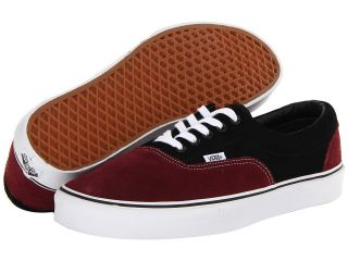 Vans Era Port Royale/Black) Skate Shoes (Purple)