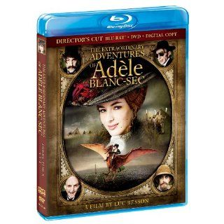 The Extraordinary Adventures of Adele Blanc Sec [Director's Cut] (BluRay/DVD/Digital Copy) [Blu ray] Louise Bourgoin, Mathieu Amalric, Luc Besson Movies & TV