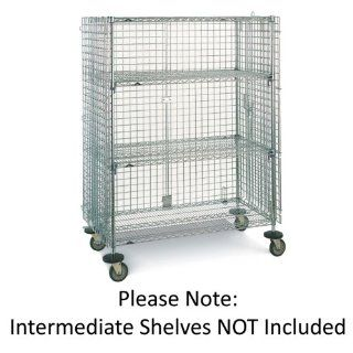"Metro Sec63ec Super Erecta Chrome Mobile 38""l Security Unit   SEC63EC: Kitchen & Dining"