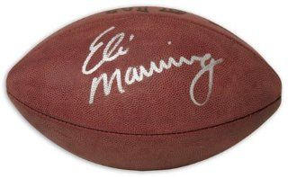 Eli Manning Autographed Football : Sports Related Collectibles : Sports & Outdoors