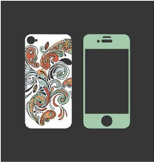 iPhone Paisley Skin for 4 or 4s Wall Saying Vinyl Lettering Home Decor Decal Stickers Quotes   Wall Decor Stickers