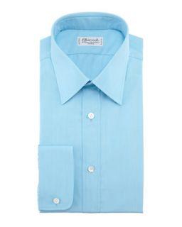 Mens Solid Dress Shirt, Aqua   Charvet   Aqua (40.5/16L)