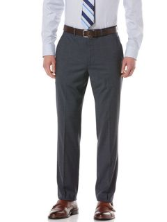 Perry Ellis Mens Mini Check Portfolio Pant