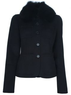 Loro Piana Fox Fur Collar Jacket