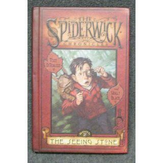 The Spiderwick Chronicles: The Seeing Stone, Book 2: Tony DiTerlizzi, Holly Black: 9780439597418: Books