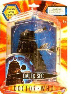 """Doctor Who   Dalek SEC (Black) 5"""" Action Figure Toys & Games"""