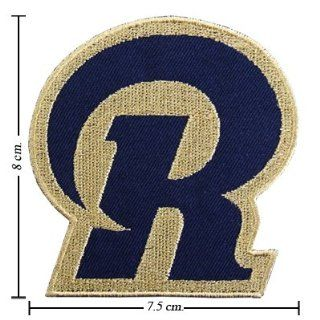 St Louis Rams Patches Logo II Embroidered Iron on Patches From Thailand : Other Products : Everything Else