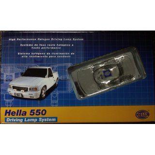 HELLA 005700891 550 Series 12V/55W Halogen Driving Lamp Kit Automotive
