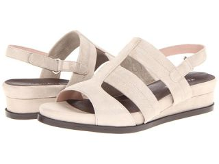 Taryn Rose Shirley Taupe Metallic Suede