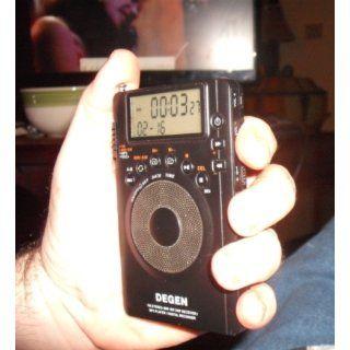 Degen DE1123 DSP AM/FM/SW Pocket Radio with 1GB  Player & Recorder Electronics