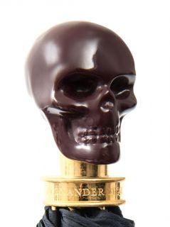 Resin skull handle collapsible umbrella  Alexander McQueen