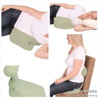 Leachco Belly Up Adjustable Pregnancy Wedge and Roll Pillow   Sage : Maternity Pillows : Baby