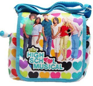 "Birthday Gift Special   Disney High School Musical HSM Stylish Dots Carryout Purse, Size 9"" X 8"", One Purse Will Be Sent Randomly: Toys & Games"
