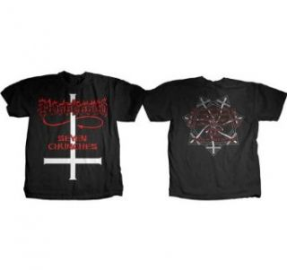 Possessed Seven Churches T shirt: Clothing