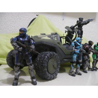 McFarlane Toys Halo Reach Series 1 Deluxe Warthog Vehicle Box Set Toys & Games